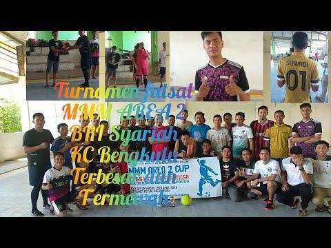 TURNAMEN FUTSAL MMM AREA 2 BRI SYARIAH KC BENGKULU 2019