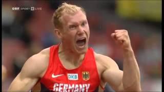European Championship Zurich 2014- 110m hurdles