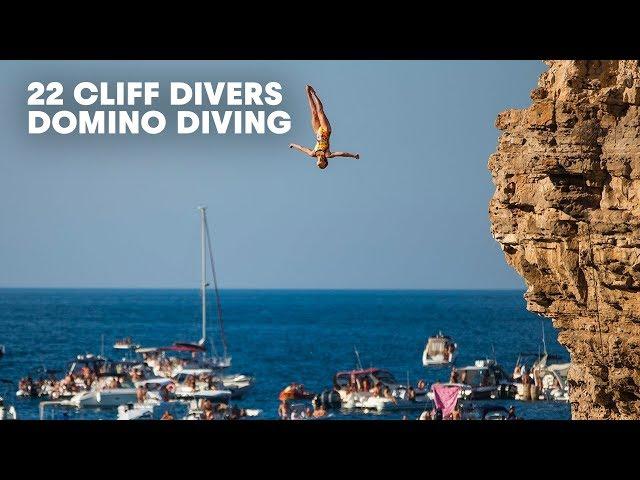 sportourism.id - Aksi-22-Cliff-Diving-Pecahkan-Rekor