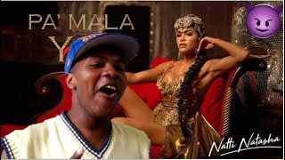 Reacción: Natti Natasha - Pa' Mala YO [Official Video] / Jaider Castillo
