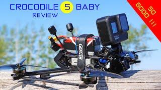 GEPRC Crocodile 5 Baby - Really Good Versatile FPV Drone!