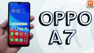 OPPO A7: Unboxing | Hands on | Price [Hindi हिन्दी]