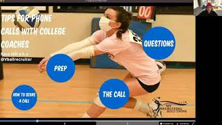 How to Prepare to Call a College Coach