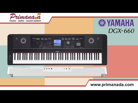 Yamaha DGX-660 Digital Piano Review