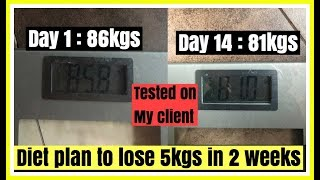 LOSE 5KGS IN 2 WEEKS | Indian Diet Plan For Weight loss | How to lose weight fast |Azra Khan Fitness