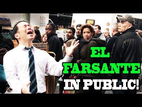 SINGING IN PUBLIC - EL FARSANTE (Ozuna x Romeo Santos)