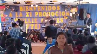 Predicando en la FTEI Graduacion de 2018 - Comitancillo, Guatemala