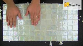 How To Install Translucent Glass Tiles
