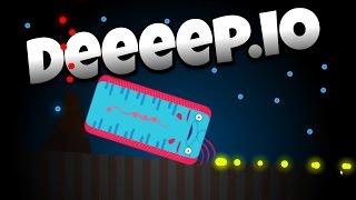 Deeeep.io - The Deadly New Oarfish! - Let's Play Deeeep.io Gameplay