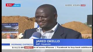 Kisumu residents ready to give President Uhuru a heroic welcome