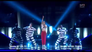 Ace Wilder - Busy Doin' Nothin' (Melodifestivalen 2014)