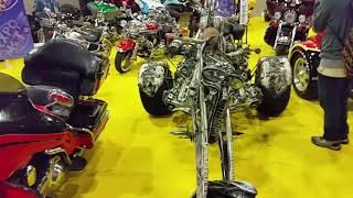 Moto Triciclo Chopper Calavera  Expo Moto 2016
