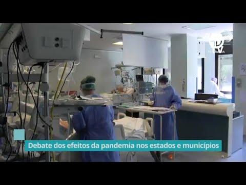 Comissão debate efeitos da pandemia nos estados e municípios - 05/10/20