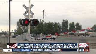 New ad campaign aims to end railroad crossing accidents
