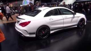 Mercedes-Benz CLA45 AMG Edition 1 walkaround and M133 engine