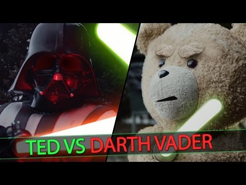 Ted vs. Darth Vader