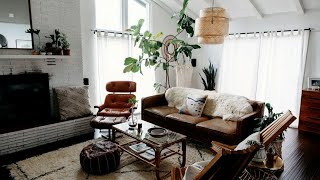 Bohemian + Scandinavian Inspired Home Tour | Interior Design
