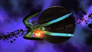 EA Fleet Vs Vorlon Dreadnought