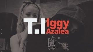 T.I. - No Mediocre Ft. Iggy Azalea (Lyrics on Screen)