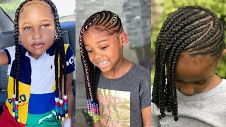 2020 HOTTEST STYLISH #BRAIDS HAIRSTYLES FOR KIDS : STYLISH BRAIDS #STYLES FOR KIDS
