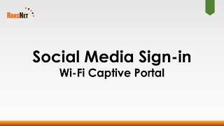 Social Media Sign-in to mbox Wi-Fi Captive Portal