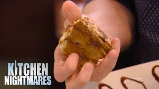 Gordon SHOCKED By Three Month Old Dessert | Kitchen Nightmares