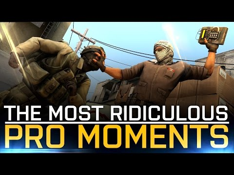 CS:GO | The MOST RIDICULOUS PRO MOMENTS (HUGE MONTAGE -REUPLOAD)