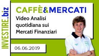 Caffè&Mercati - In attesa della conferenza stampa della BCE