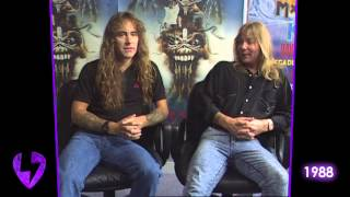 Iron Maiden: The Raw & Uncut Interview   1988