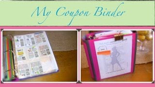 Couponing 101: My Coupon Binder {how To Organize}