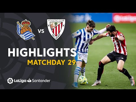 ⚽ HIGHLIGHTS I Real Sociedad 1-1 Athletic Club I LaLiga Matchday 29