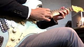 Fair Warning - Burning Heart (guitar solo cover)