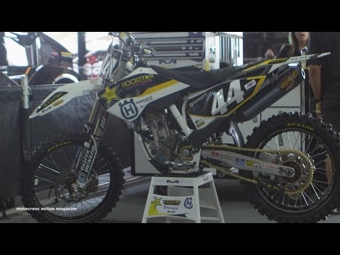 Inside Zach Bell's Factory Rockstar Racing Husqvarna FC250 - Motocross Action