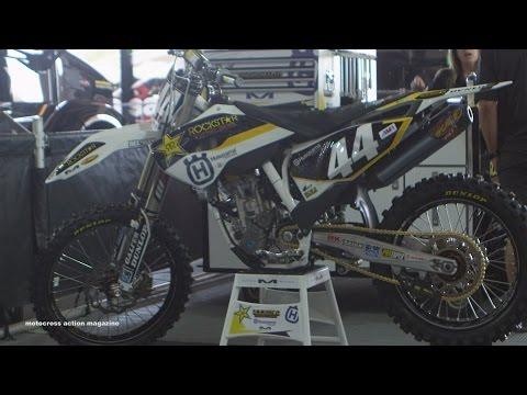 Inside Zach Bell's Factory Rockstar Racing Husqvarna FC250 - Motocross Action