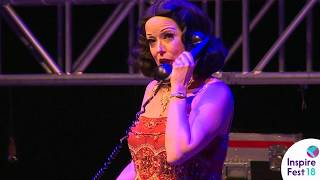 Hedy! The Life & Inventions of Hedy Lamarr | Inspirefest 2018