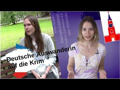 Deutsche Auswanderin auf die Krim [Video]