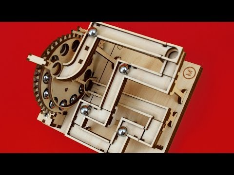 Electric KIT - Modular Marble Machine - Shield no.1