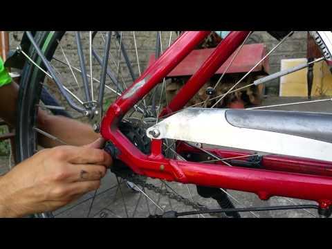 smontare ruota posteriore bicicletta cambio shimano nexus 8 velocità