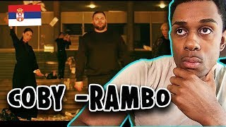 SERBIAN RAP REACTION | COBY   RAMBO (OFFICIAL VIDEO)