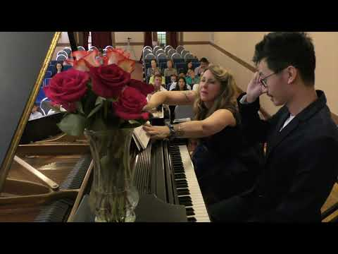 Matoush Melodies Fall 2017 Recital adult student performing.