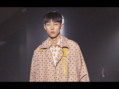 KENZO Spring Summer 2019 Menswear Paris - Fashion Channel