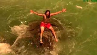 YUBA RIVER RESCUE: CHP conducts dramatic rescue of swimmer from Yuba River