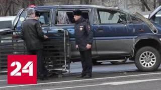 В Москве разбился микроавтобус с детьми