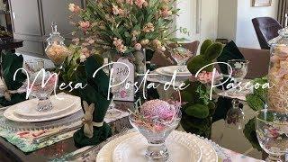 Mesa De Páscoa 2019 - Easter Table Decor.
