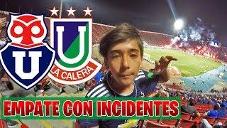 U.DE CHILE VS U.LA CALERA - REPARTIERON PUNTOS EN ÑUÑOA