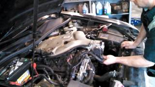 Spark plug replacement Cadillac CTS 3.6L  2007 ignition coil install remove replace how to change
