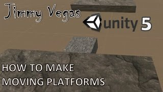 Mini Unity Tutorial - How To Make Moving Platforms - Beginners Tutorial