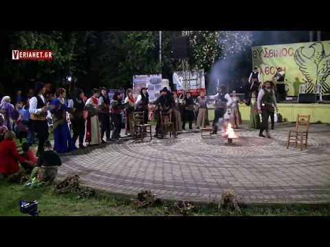 Η Εύξεινος Λέσχη Βέροιας αναβίωσε το έθιμο του Κλήδονα (βίντεο)
