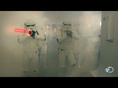 《流言終結者》星戰白兵的雷射真的能躲過嗎?