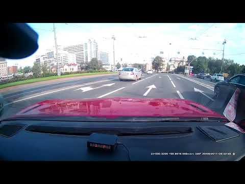 Конфликт на дороге в Санкт-Петербурге